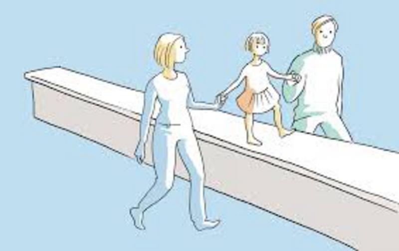 Eltern bleiben - Ein Leitfaden bei Trennung und Scheidung