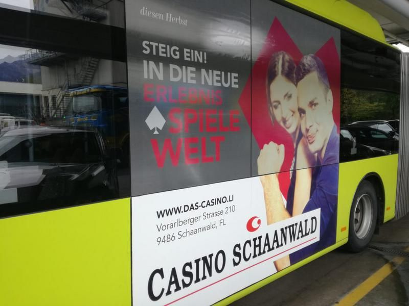 Aufdringliche Casino Werbung